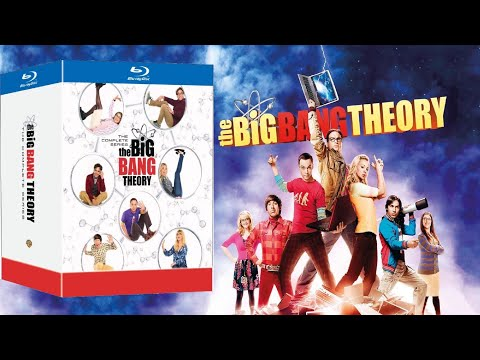 The Big Bang Theory Complete Series Blu-ray Unboxing