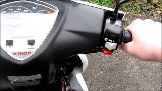 4. Kymco Super 8 50cc 2-Stroke Review