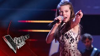 Courtney Performs I Got You I Feel Good Semi Final  The Voice Kids UK 2017