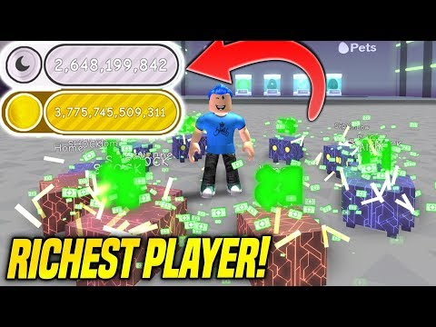 BECOMING THE RICHEST PLAYER IN PET SIMULATOR!! *TRILLIONS OF COINS* (Roblox)