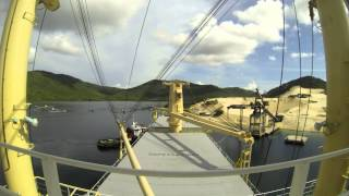 Dam Mon Vietnam  City pictures : HARBOR PILOT (ch.5) [HD] - berthing Dammon harbour