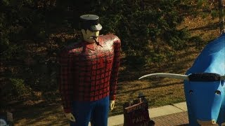 Bemidji (MN) United States  city pictures gallery : Where Paul Bunyan Was Born