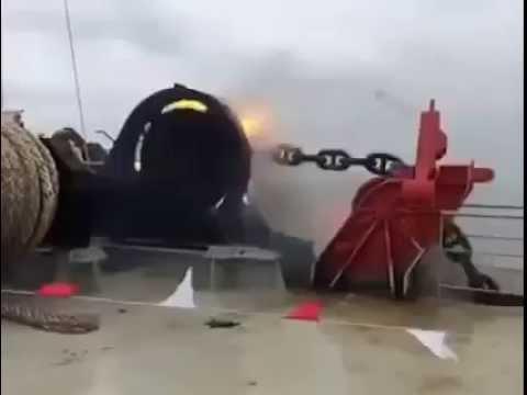 Потеря якоря на судне
