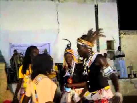 رقصة من التراث الشعبي السوداني