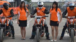 Hubli India  city pictures gallery : KTM | ORANGE DAY | HUBLI | STUNT | SHOW | INDIA |