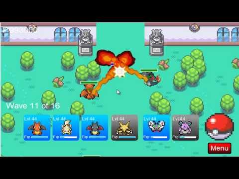 Pokemon Tower Defense || Celadon Gym Tutorial || HD