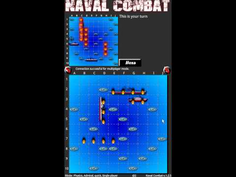 Video of Naval combat