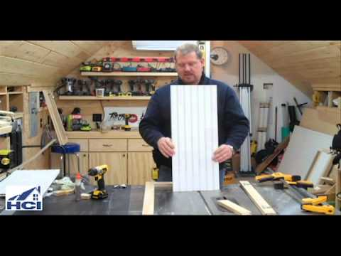 making doors - Todd from http://www.homeconstructionimprovement.com/how-to-build-shaker-style-cabinet-doors/ shares tips on how to build shaker style cabinet doors with bea...