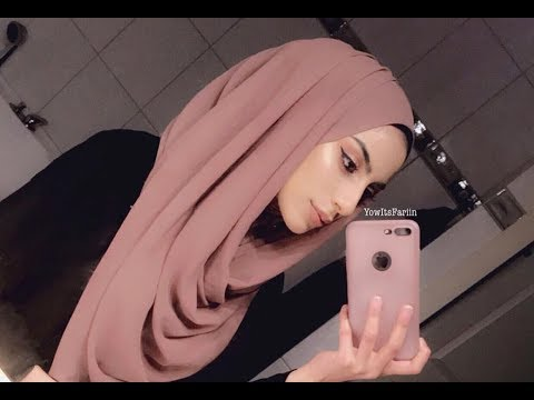 Easy Hijab Style For 2018! | Chiffon Scarf Tutorial