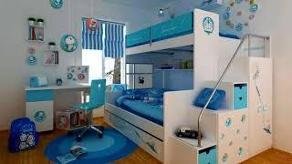 🔝 Boys Bedroom Decorating Ideas Cool Teenage Makeover Small Room Painting Tour DIY Hacks 2018