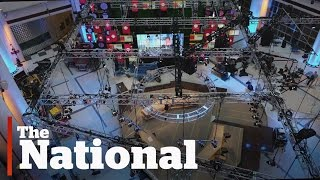 CBC Election Night Set | Timelapse