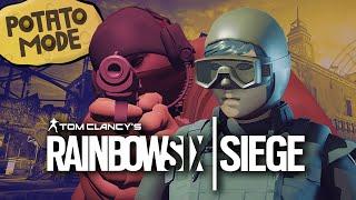 Rainbow Six Siege's Graphics Go Under The Knife | Potato Mode