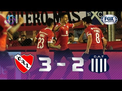 Independiente - Talleres [3-2] | GOLES | Superliga Argentina Fecha 8 | FOX Sports