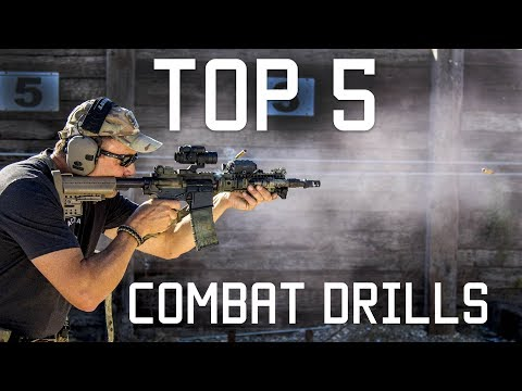 Top 5 Combat Drills | Special Forces Training | Tactical Rifleman