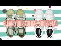How to clean your adidas superstar 2017 with proof