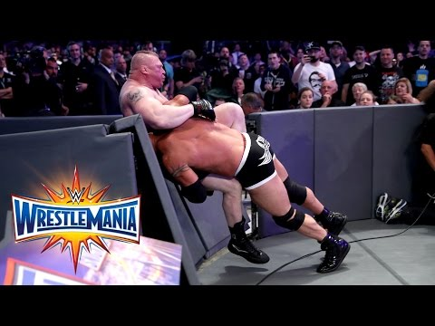 Goldberg vs. Brock Lesnar - Universal Title Match: WrestleMania 33 (WWE Network Exclusive)