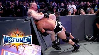 Goldberg and Brock Lesnar clash in a mega rematch for the Universal Championship: Courtesy of the award-winning WWE Network. More ACTION on WWE NETWORK : htt...