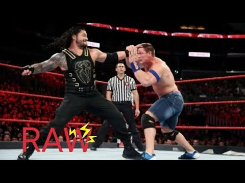 WWE RAW 15 June 2019 Roman Reigns vs  John Cena Full Match Highlights HD 6 5 2019 This Week360p