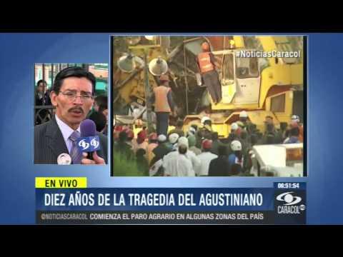 AGUSTINIANO - Entre el dolor de la pérdida y la impunidad recuerda hoy Juan Vicente Ortiz el accidente en el norte de Bogotá donde murieron 21 niños, entre ellos su hijo. ...