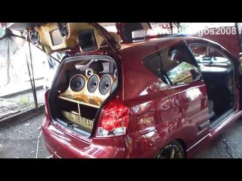 Chevrolet Aveo Hatchback tuning colombia sonido sobre ruedas 2013 2014 cali