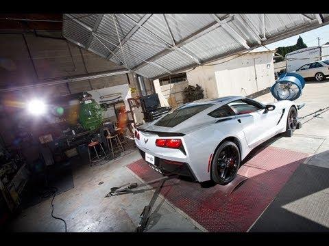 2014 Chevy Corvette Stingray goes to the dyno