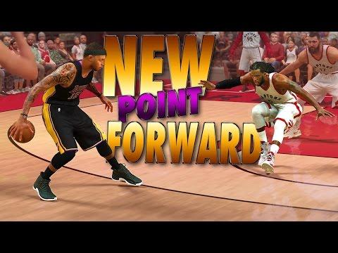 NEW 6'8 Ankle Breaking POINT FORWARD Creation - NBA 2K17 MyCareer & MyPark (видео)