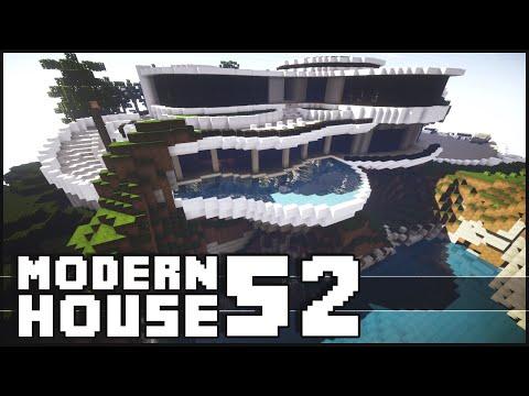 Minecraft – Epic Modern House 52 with Shark Tank!
