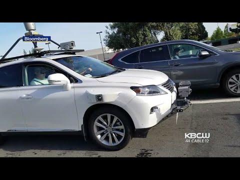 Apple Fahrzeug hatte einen Unfall