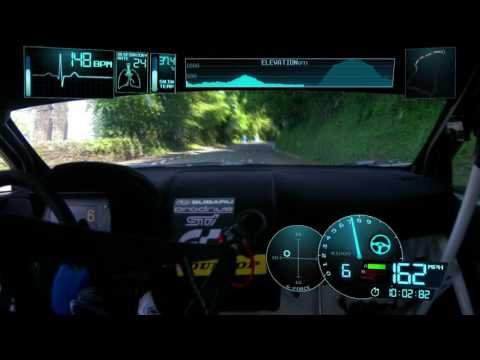 Subaru WRX STI Time Attack en Isle Of Man TT Course