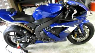 7. 2005 Yamaha R1 Akrapovic EVO 2 Titanium/carbon