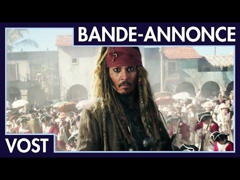 Pirates des Caraïbes : La Vengeance de Salazar - Nouvelle bande-annonce (VOST)