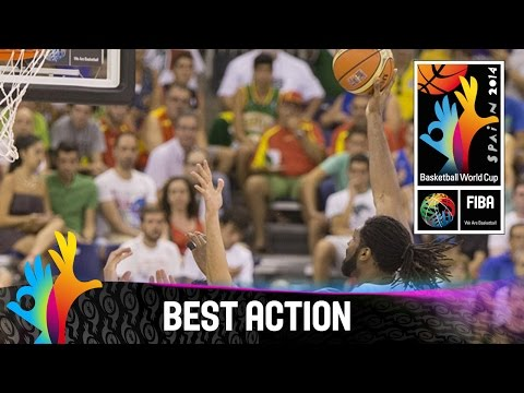 Iran - Watch Brazil's great fast break against Iran. The 2014 FIBA Basketball World Cup will take place in Spain from 30 August - 14 September and will feature the best international players from...