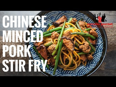 Tefal Chinese Minced Pork Stir Fry | Everyday Gourmet S6 EP45
