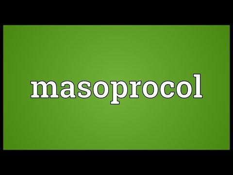 Masoprocol Meaning