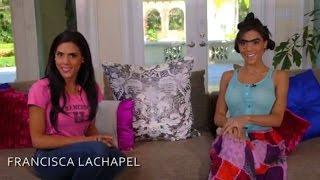En el Reto YouTube de NBL, Francisca Lachapel entrevistó a su personaje Mela La Melasa
