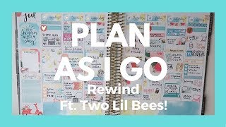 Rewind plan with me in my Erin Condren and plan as I go style for my beach week vacation featuring this perfectly themed kit from Two Lil Bees! Sorry I'm so behind on editing guys!!//FIND ME//Planner instagram: https://www.instagram.com/hollyplans/Facebook page: https://www.facebook.com/hollyplans1/ //COUPONS & LINKS//MY PLANNER - Erin Condren planner: http://goo.gl/UFtdAk (My referral link - you get $10 credit; I get $10 credit)MY OTHER PLANNER - Foxy Fix: http://rwrd.io/kkeas69 (referral link -- use for 10% off your first order!)EBATES - 1% back on all Etsy purchases! http://www.ebates.com/rf.do?referrerid=x8FImaJ3AWTFaVpe2HTFEA%3D%3D&eeid=28187 (My referral link--earn $10 cash back with your first purchase!)PEN GEMS - http://r.sloyalty.com/r/vqiNeMozKq5c  (referral link -- use for 10% off your first order!)PLANNER BELLE PRESS: Hollyplans25GP STICKER STUDIO: Hollyplans20//SHOPS MENTIONED//Two Lil Bees: http://i.refs.cc/vMJvYFvG (referral link -- use for 10% off your first order!)Once More with Love: https://www.etsy.com/shop/oncemorewithlove The Coffee Monsterz Co: http://i.refs.cc/fvpjvLkK (my referral link--use and get 15% off your first order!)Clever Gal Crafts: https://www.etsy.com/shop/CleverGalCraftsSimply Watercolor Co: https://simplywatercolorco.myshopify.com/ Caress Press: https://www.etsy.com/shop/CaressPressPlanner Gems: https://www.etsy.com/shop/PlannerGems Paper and Milk: https://www.etsy.com/shop/paperandmilk Color Pop Paper: http://i.refs.cc/VFcz9UhU (referral link -- use for 10% off your first order!)Little Miss Paperie: http://i.refs.cc/Sby76uVM (referral link -- use for 10% off your first order!)