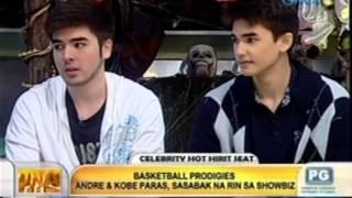 Video Unang Hirit: Basketball prodigies Andre and Kobe Paras, sasabak na rin sa showbiz MP3, 3GP, MP4, WEBM, AVI, FLV September 2019