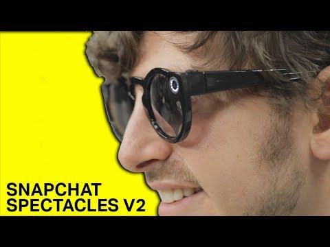 Snapchat Spectacles V2 camera glasses demo