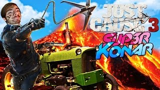 Video FAIRE DU TRACTEUR DANS UN VOLCAN! Just Cause 3 #2 MP3, 3GP, MP4, WEBM, AVI, FLV September 2017