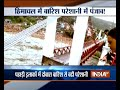 Massive rain leads to landslide in Himachal, water level in Yamuna rises in Delhi - Video