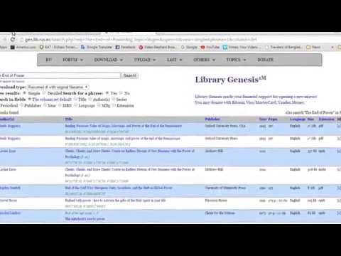 Libgenio get your book for free - YouTube