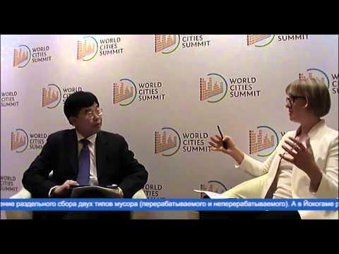 Moscow Urban Forum: Эксклюзивное интервью с Лэрри Нг Ли Хок (видео)