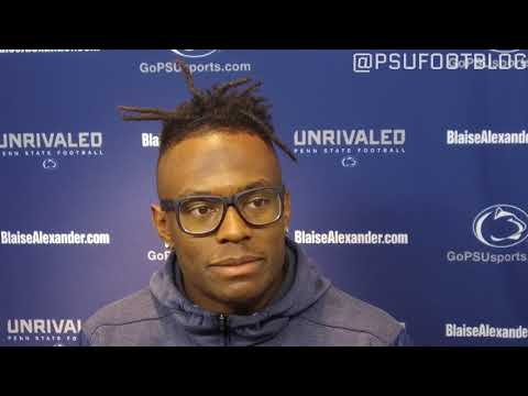 DaeSean Hamilton talks through becoming Penn State football's all-time leader in receptions