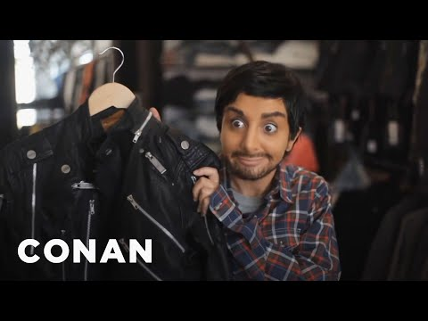 The Unaired SNL Sketch: Nasim Pedrad As Aziz Ansari  – CONAN on TBS