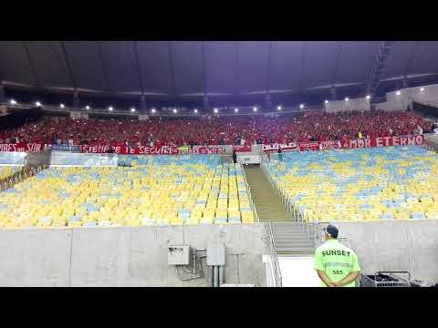 Flamengo vs Independiente: Así estaba el Maracaná (Final Sudamericana 2017) - La Barra del Rojo - Independiente