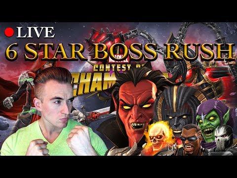 Analyzing The 6 Star Boss Rush Challenge | Marvel: Contest of Champions (видео)
