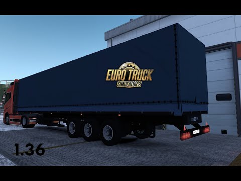 Nefaz 93341-10 TRAILER REWORKED ETS2 1.36 DX11
