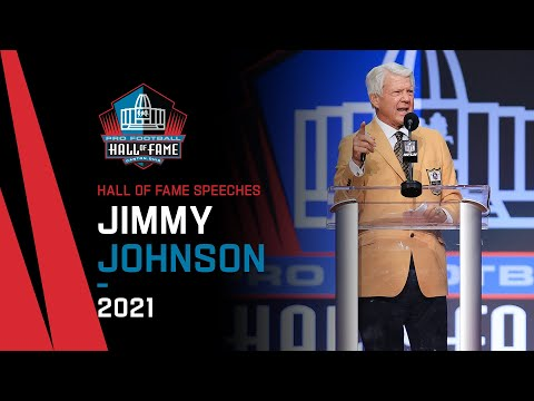 Jimmy Johnson Full Hall of Fame Speech  2021 Pro Football Hall of Fame  NFL