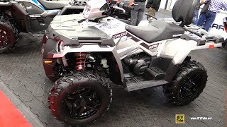 3. 2018 Polaris Sportsman 570 SP White Recreational ATV - Walkaround - 2017 Drummondville ATV Show