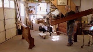 Extending Bedrails of an Antique Sleigh Bed - Thomas Johnson Antique Furniture Restoration